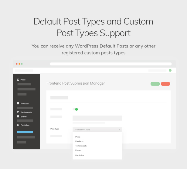 Frontend Post Submission Manager - 9
